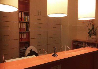 Spuckschutz CopleX Hygieneschutz für Ämter und Büros Corona